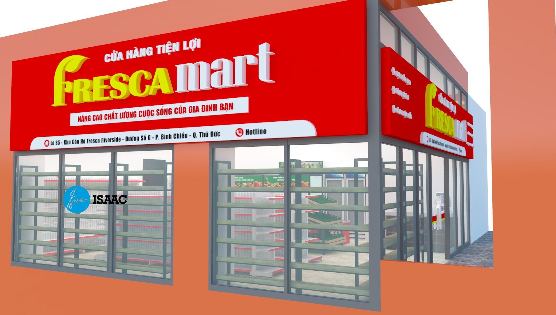 Thiết kế siêu thị tại TPHCM