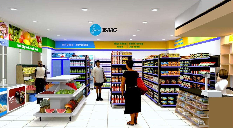 Thiết kế siêu thị mini tại bệnh viện Bạch Mai CS2 Hà Nam