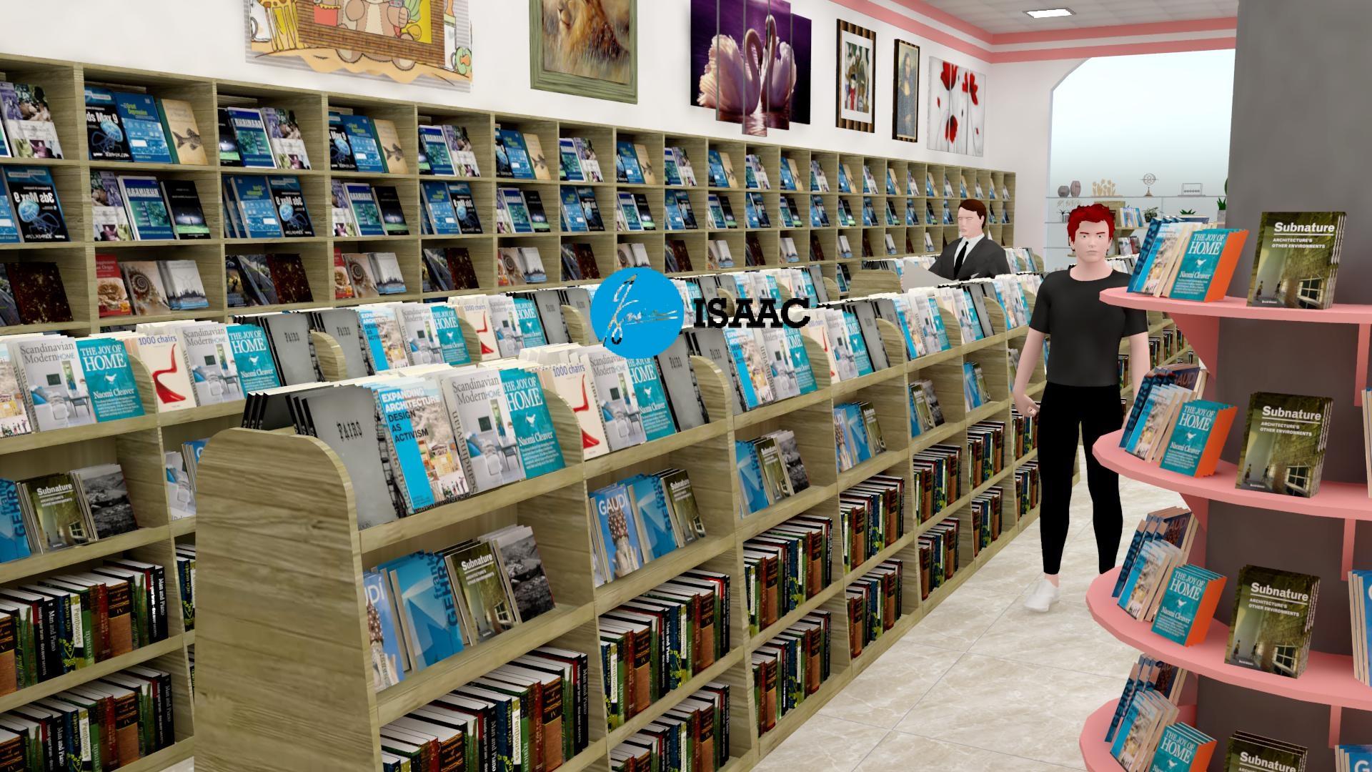 Thiết kế nhà sách tại Hà Giang
