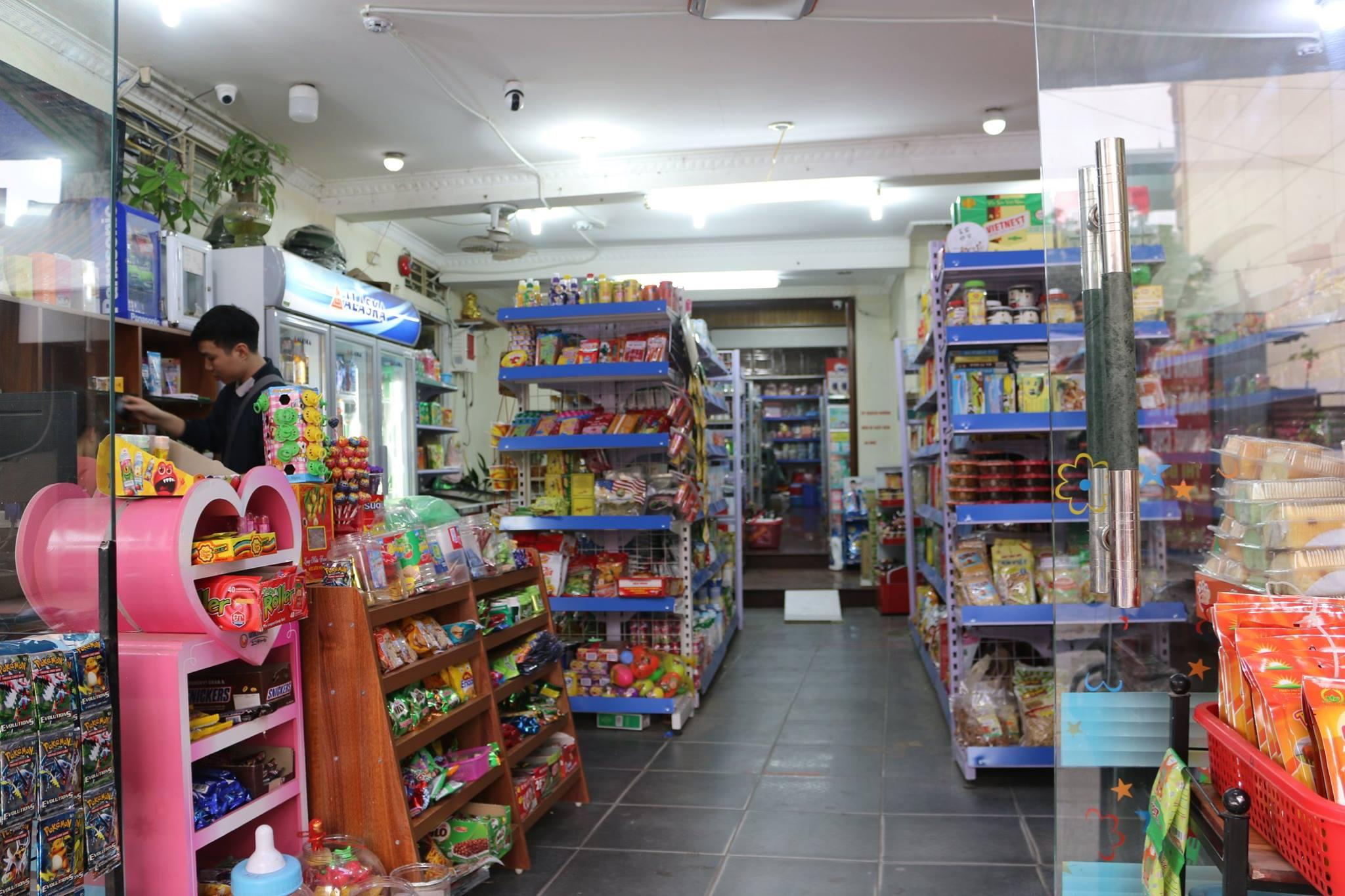 Trưng bày hàng hoá chuẩn siêu thị