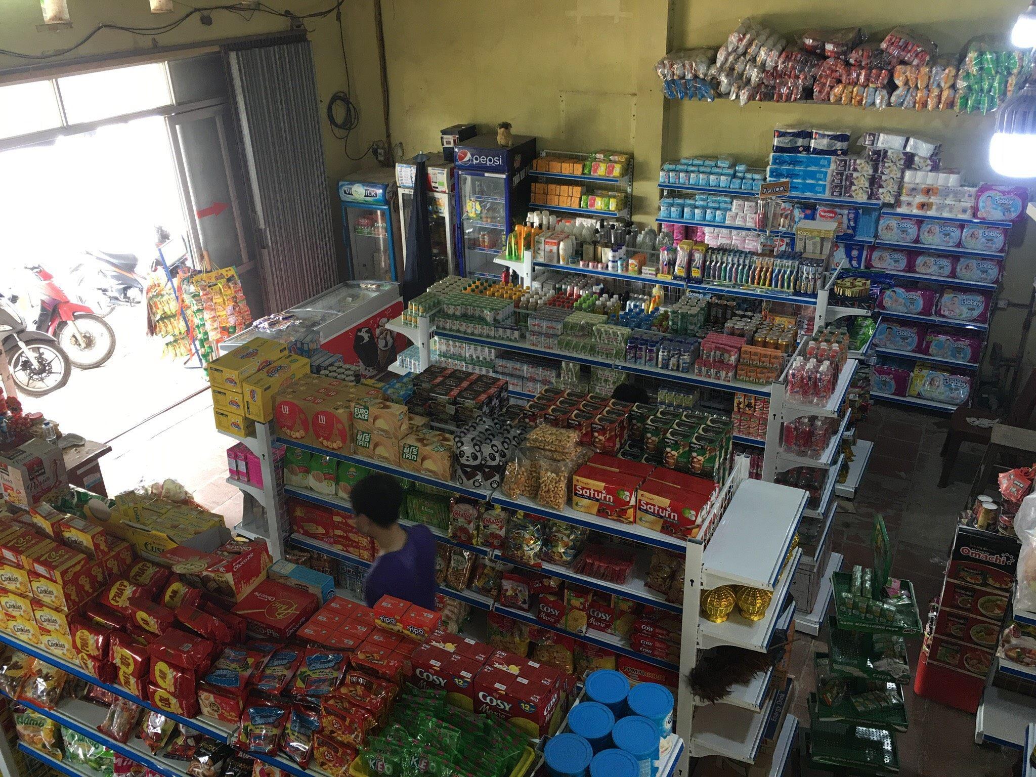 Toàn cảnh cửa hàng siêu thị tại Bắc Ninh