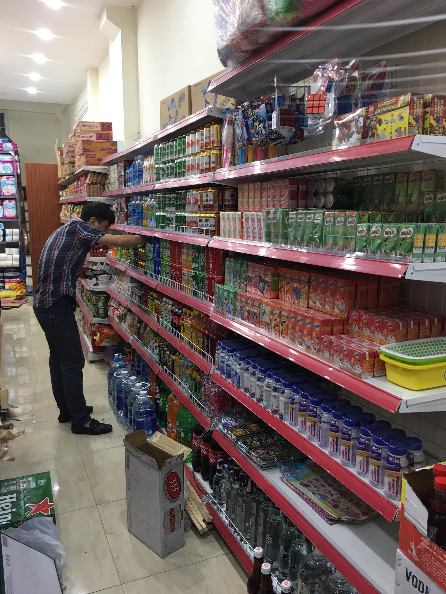 Setup siêu thị mini tại quận Hoàng Mai Hà Nội