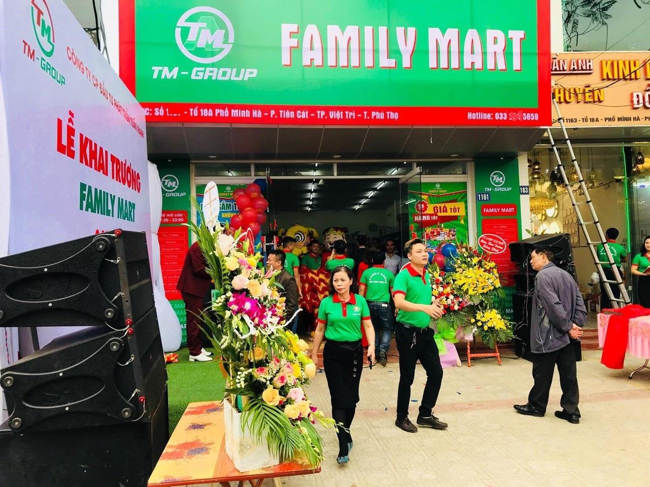 Khai trương siêu thị TP Việt Trì, tỉnh Phú Thọ