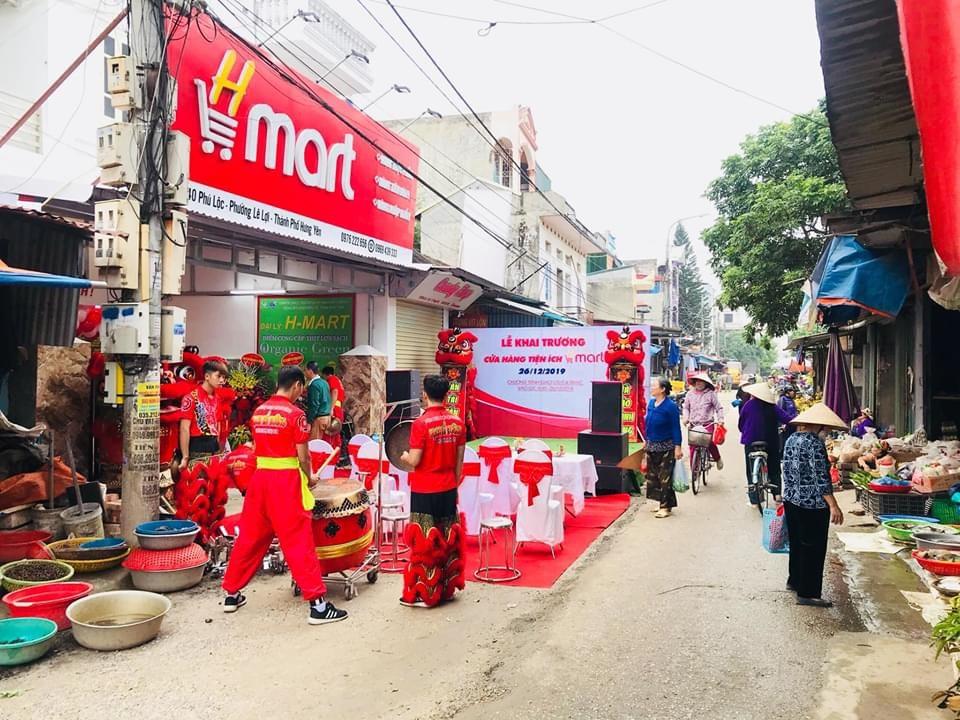 Khai trương siêu thị tại TP Hưng Yên