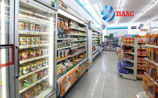 Mô hình cửa hàn tiện lợi, siêu thị tiện ích