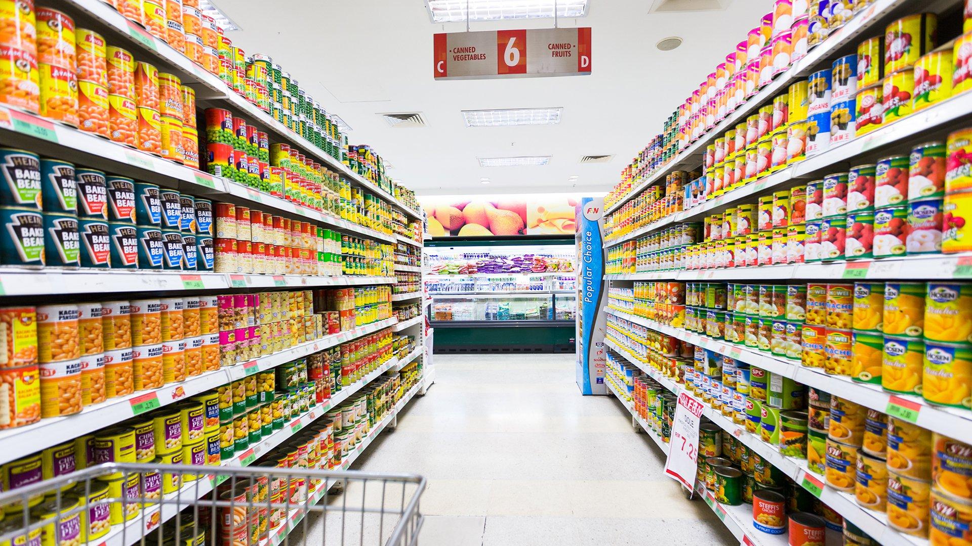 Cách bố trí cửa hàng tạp hóa, siêu thị bắt mắt hút khách hàng