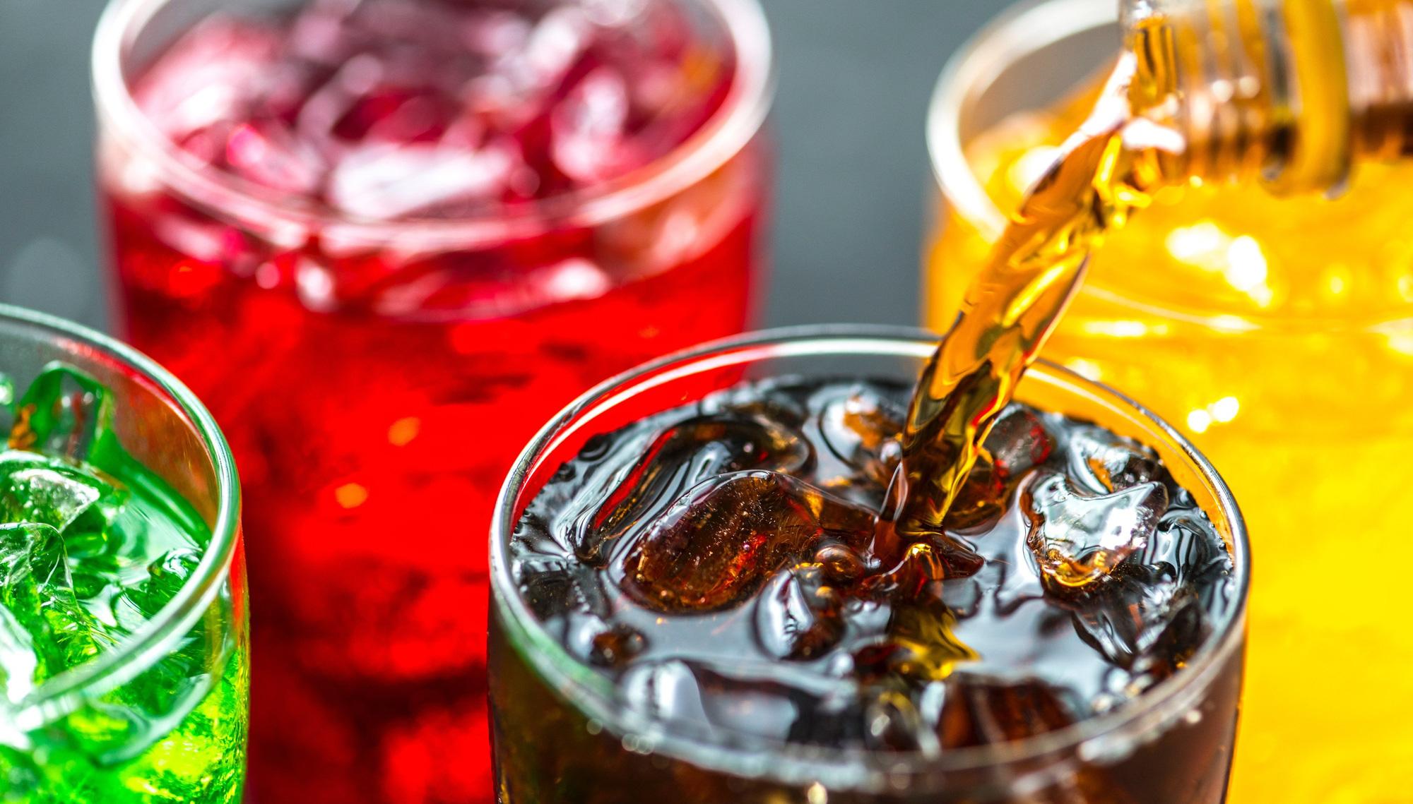 Hạn chế uống đồ uống có ga