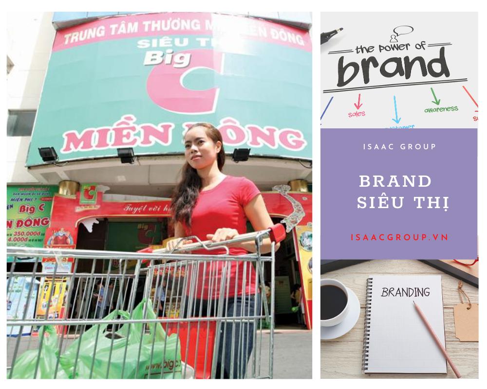Làm thương hiệu cho siêu thị, cửa hàng